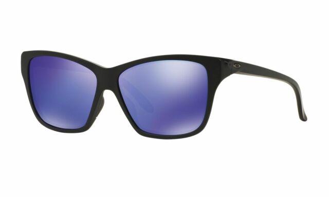 36d621b93d New OAKLEY Sunglasses HOLD ON OO9298-08 Matte Black Frame w/ Violet Iridium  Lens
