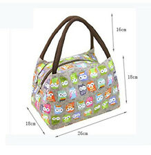 Handbag meal bag OWL Oxford cloth waterproof bag camping work school lunch box
