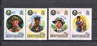 Original Montserrat 1998 Satz 1075/78 Pfadfinder/scouting Postfrisch Briefmarken Sonstige