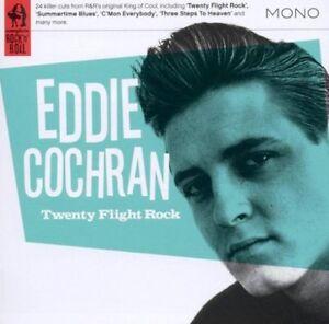 EDDIE-COCHRAN-Twenty-Flight-Rock-2011-24-track-compilation-CD-NEW-SEALED