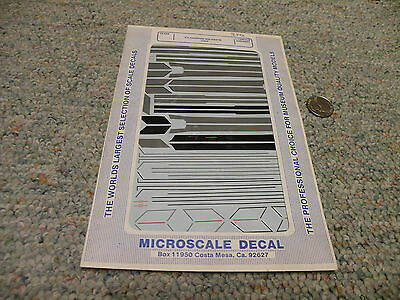 Microscale decals 1/72 72-484 F-4 Phantom Walkways USAF   III