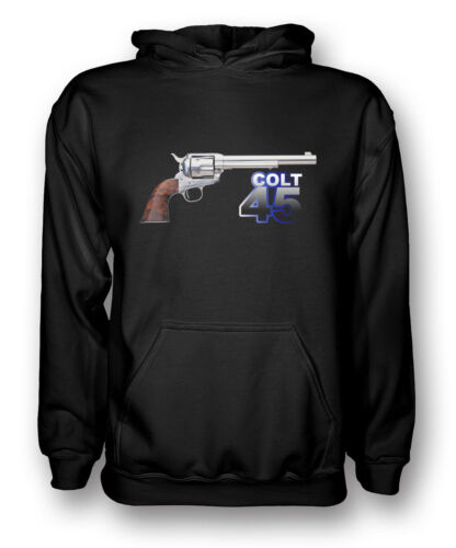 Colt 45 - Awesome Pistol - Cool - Mens Hoodie