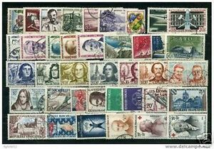 FRANCE-STAMP-ANNEE-COMPLETE-1959-41-TIMBRES-OBLITERES-TB