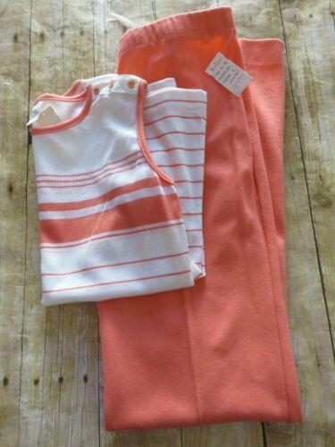 Jantzen Pants Top Vintage Set With Tags Activewear