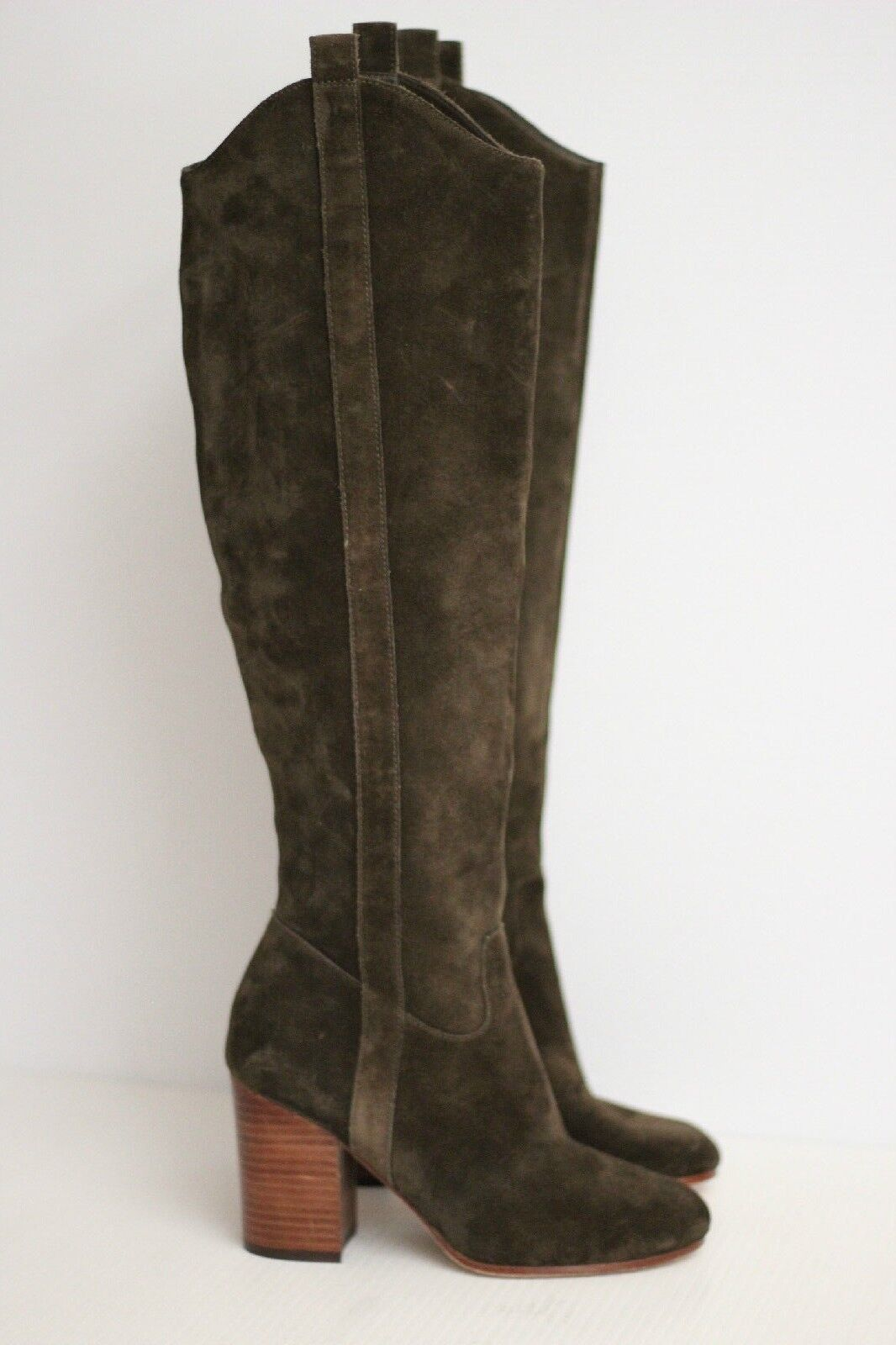 NEW Via Spiga Women's 'Babe' Knee-High Boots - Brown Suede - Size 5 M