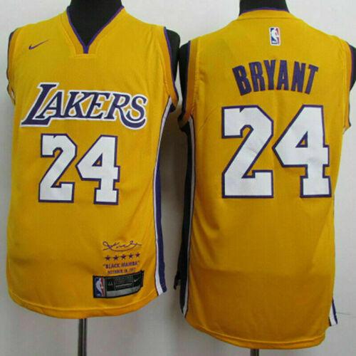 Kobe Bryant Trikot Retro Laker 24 Basketball LA Los Angeles Swingman Tops Jersey