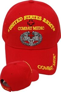 Image Is Loading US Army COMBAT MEDIC Ball Cap EMT 68W