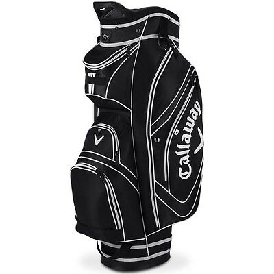 Callaway Chev Organiser 16 Cart Bag Black