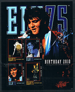 St Kitts 2011 Elvis Presley MS SG 1069 MNH - Buntingford, Hertfordshire, United Kingdom - Returns accepted Most purchases from business sellers are protected by the Consumer Contract Regulations 2013 which give you the right to cancel the purchase within 14 days after the day you receive the item. F - Buntingford, Hertfordshire, United Kingdom
