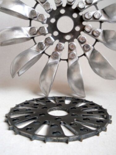 ext diamètre = 270 mm Pelton type Aluminium Roue de l/'eau hydro turbine