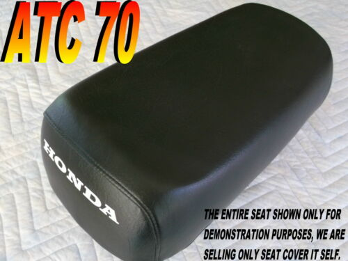 ATC70 seat cover for Honda ATC 70 1984-85 Black 287A