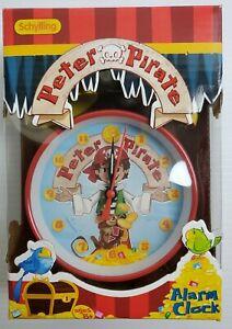 NIB-Schylling-2008-Peter-Pirate-Kids-Alarm-Clock-SH002030
