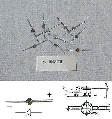3И301B 20 x AI301B Ga-As Switching Tunnel Diode Military USSR