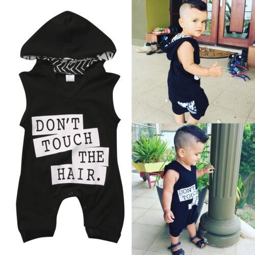 Newborn Toddler Baby Kids Boys Outfit Clothes Cotton Romper Jumpsuit Bodysuit US