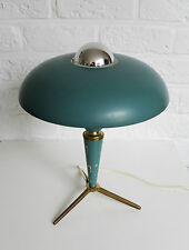 Lampe de table bureau LOUIS KALFF tripod desk or table lamp PHILIPS space age