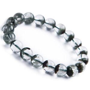 Natural-Green-Phantom-Quartz-Clear-Round-Beads-Fashion-Bracelet-For-Women-10mm