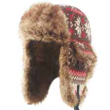 376e91fa1fc item 1 Winter Earflap Leather Fur Russian Ushanka Cossack Trapper Aviator  Bomber Hat -Winter Earflap Leather Fur Russian Ushanka Cossack Trapper  Aviator ...