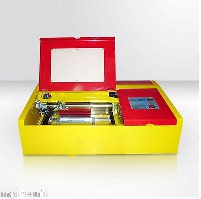50W CO2 Laser Engraving Cutting Machine Engraver Cutter USB Port High Precise