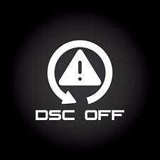 DSC Off Auto Aufkleber Sticker Decal JDM OEM DUB Style Shocker 11,1 x 10,0 cm