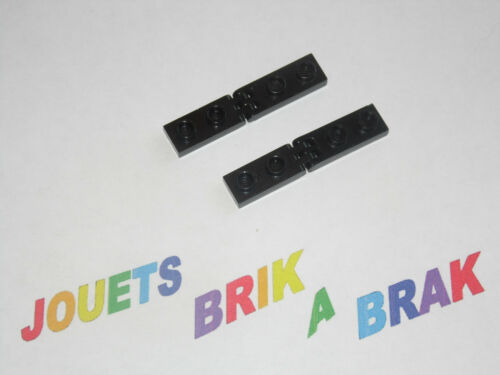 Lego ensemble Hinge Plate 1x2 with 3 et 2 Fingers ref 4275 b 4276 b choose color