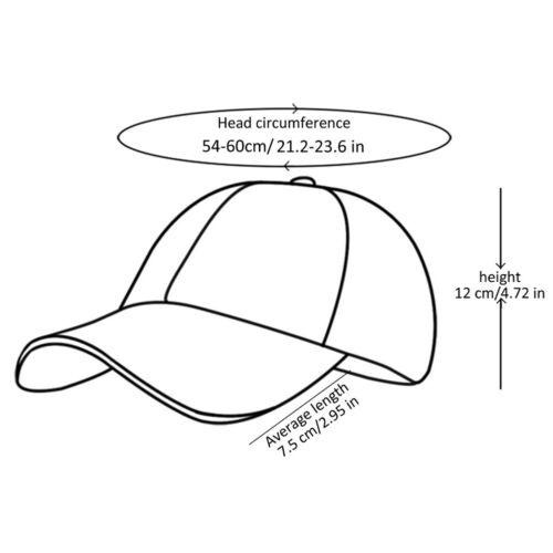 Unisex Men Women Fashion Adjustable Hip Hop Tour Hat Chain Ring  Baseball Caps