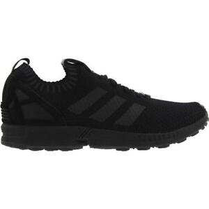 premium selection f34df 21ec7 Details about Mens ADIDAS ZX FLUX PK Black Textile Trainers S75976