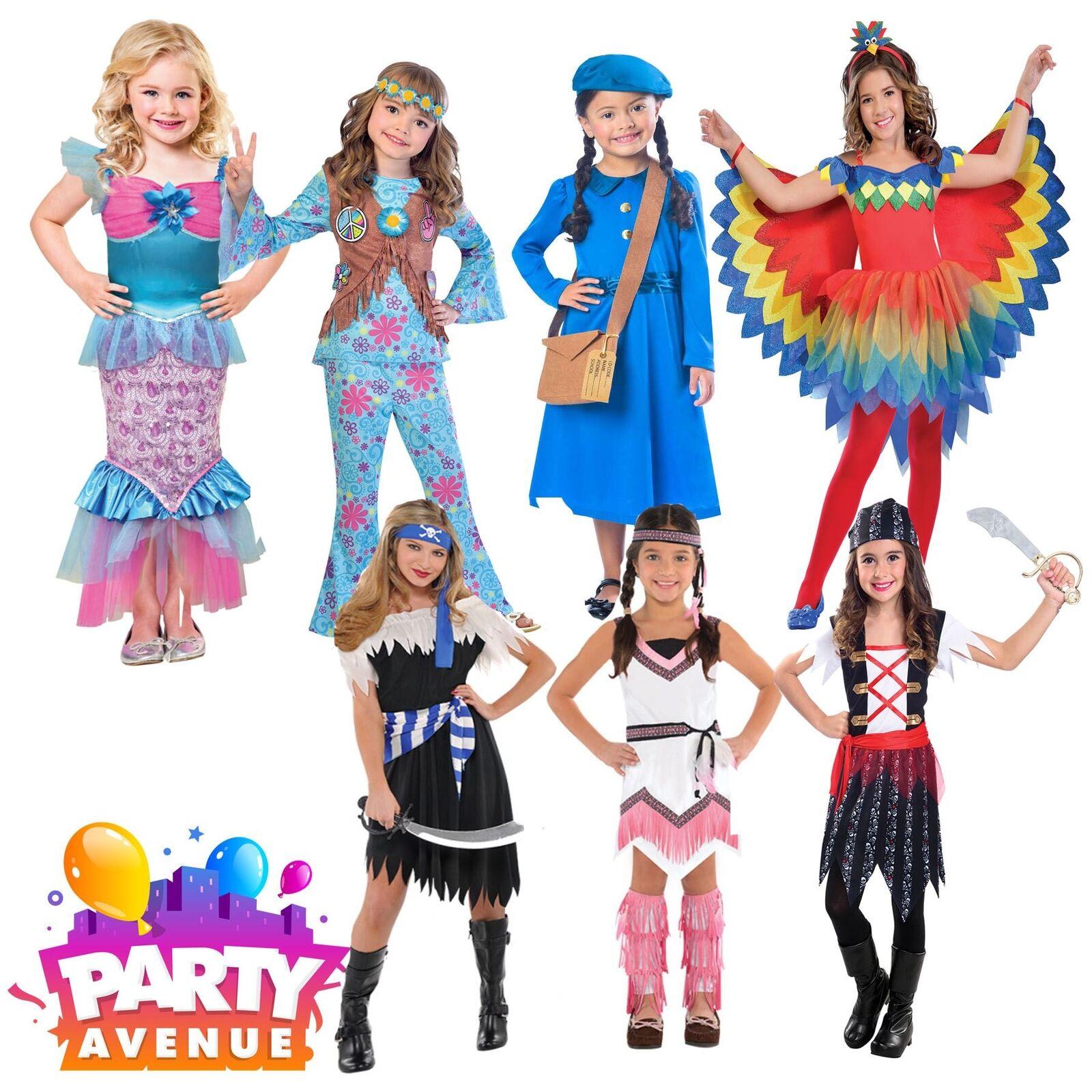 Girls Fancy Dress Book Week Costumes Novelty Lot