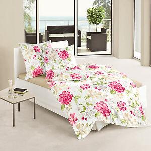 Bierbaum Bettwäsche Mako Satin Flower 80 X 80 135 X 200 Cm Neu Ebay