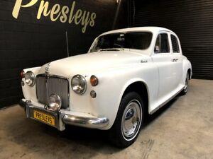 1957-Rover-90-P4-4-speed-manual-STUNNING-CLASSIC-Suicide-door-like-rolls-royce