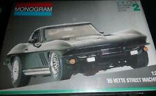 Monogram 2724 '65 VETTE Street Machine Model Kit