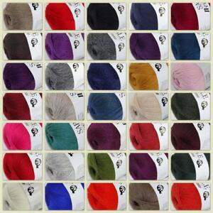 1Ballx50g-High-Quality-Sable-Cashmere-Hand-Knit-Wool-Wrap-Shawls-Crochet-Yarn