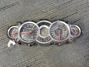 08-16 Suzuki Hayabusa GSXR 1300 Instrument Gauge Cluster Speedo Speedometer