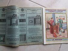 Catalogue 130 p. MANUFRANCE 1936 LA MAISON  Machine à coudre meuble déco