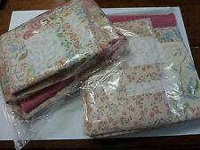 Job lot pack fabric material offcuts remnants craft dolls house good sized