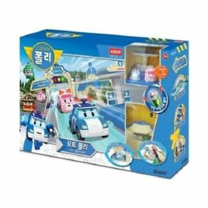Academy-Robocar-Poli-Auto-Deluxe-Traffic-Play-Set-Famous-Animation-Korea-Toy-V