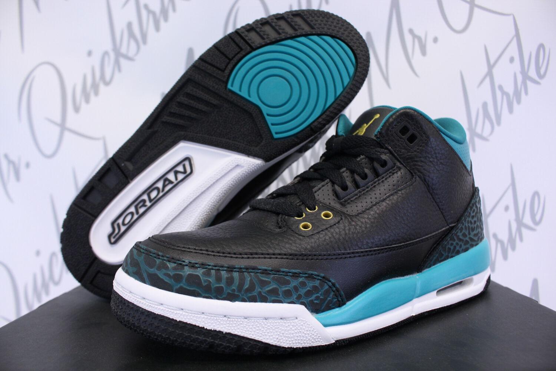 Cheap women's shoes women's shoes NIKE AIR JORDAN 3 III RETRO GG GS Price reduction