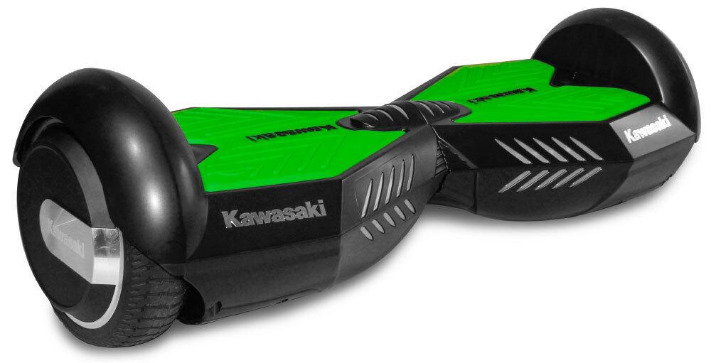 Kawasaki Hoverboard scooter elettrico nero verde ruote da Pollici 6.5 Pollici da 07a84e