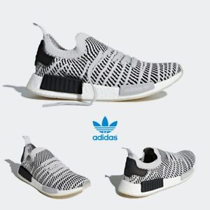 release date c1dc7 bd1df Image is loading Adidas-Original-NMD-R1-PK-STLT-Runner-Shoes-