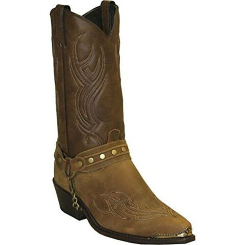 3012 Sage Men/'s Brown Harness Boot NEW