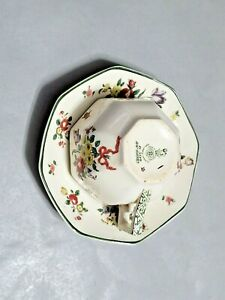 ROYAL-DOULTON-034-OLD-LEEDS-SPRAY-034-CUP-AND-SAUCER-Set