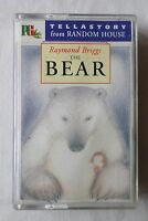 RAYMOND BRIGGS:  THE BEAR  [Cassette Audiobook]
