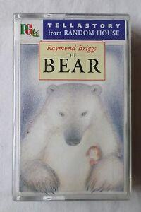 RAYMOND-BRIGGS-THE-BEAR-Cassette-Audiobook