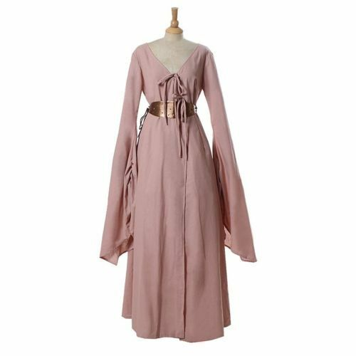Game of Thrones Sansa Stark Women Medieval Dress Royal Cosplay