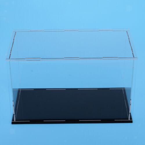 antipolvere scatola base  nera Espositore acrilico 35 * 25 * 25cm