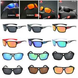 7c99a3eaa155 Image is loading DUBERY-Polarized-Sunglasses-Women-Men-Square-Cycling-Sport-