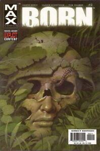 Punisher-Born-2003-Ltd-2-Near-Mint-NM-Marvel-Comics-MODERN-AGE