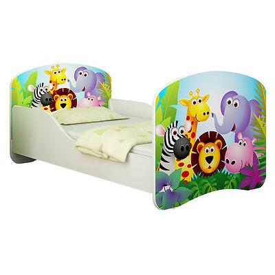 Babybett Kinderbett Jugendbett Matratze Lattenrost NEU 70x140 oder 80x160 Bett
