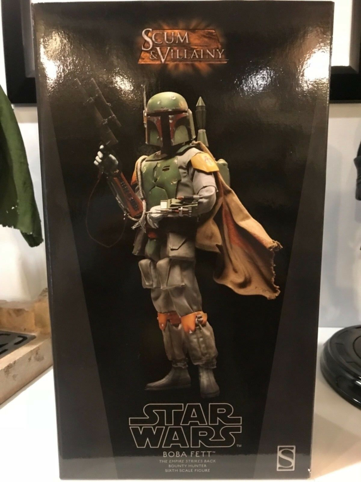 Sideshow Collectibles Scum Of Villainy Boba Fett Exclusive Figure