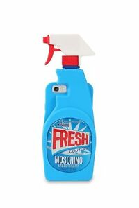 Limpieza-fresca-Botella-de-Spray-3D-Moschino-como-Apple-iPhone-5-6-7-8-Estuche-cubre