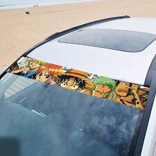 Color One Piece Front Rear Windshield Autoaufkleber Aufkleber Car Stickers N-312